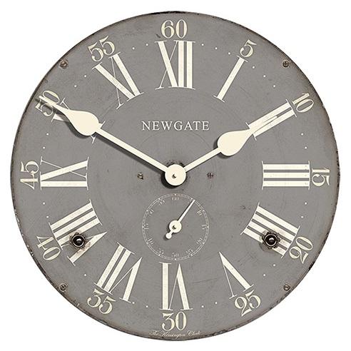 壁掛け時計レビュー「newgate製 ミッドセンチュリーな雰囲気漂うグレーの掛け時計」 ⋆ Wall Clocks